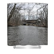 Kennedy Bridge Over French Creek Shower Curtain
