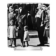 Kennedy Funeral, 1963 Shower Curtain