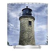 Kenosha Southport Lighthouse Shower Curtain