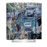 Kent Chevy Truck Shower Curtain