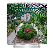 Kentlands Greenhouse Shower Curtain