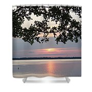 Kentucky Lake At Sunsset Shower Curtain