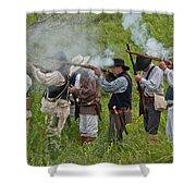 Kentucky Mustangs  Shower Curtain