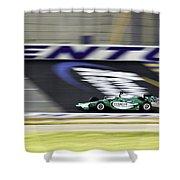 Kentucky Speedway Irl Shower Curtain