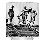 Kenya-uganda Railway 1901 Shower Curtain