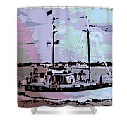 Ketch Shower Curtain