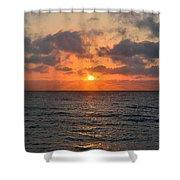 Key West Sunrise Shower Curtain