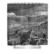 Khyber Pass Shower Curtain