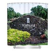 Kiahuna Golf Club Shower Curtain