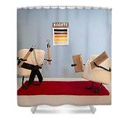 Kickin Confection Shower Curtain