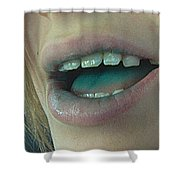 Kids With Candy Classic Shower Curtain