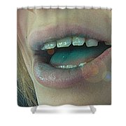 Kids With Candy Sugar High Shower Curtain