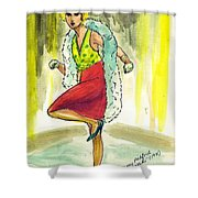 Kiki Shower Curtain