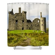 Kilchurn Castle Shower Curtain
