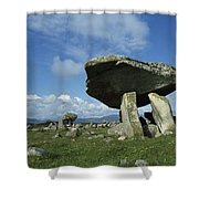 Kilclooney, Co Donegal, Ireland Dolmen Shower Curtain