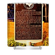 Kilgore Historical Marker Shower Curtain
