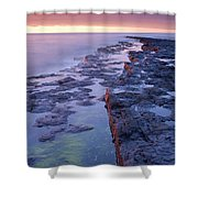 Killala Bay, Co Sligo, Ireland Bay At Shower Curtain