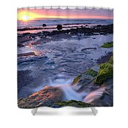 Killala Bay, Co Sligo, Ireland Sunset Shower Curtain