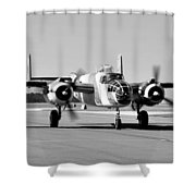 Killer Bee Shower Curtain by David Lee Thompson