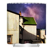 Killer Storm Coming Shower Curtain