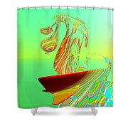 Killer Wave Shower Curtain