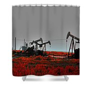 Killing Ground Shower Curtain