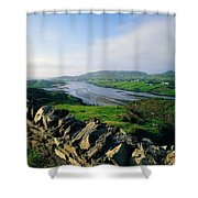 Killybegs, Co Donegal, Ireland Stone Shower Curtain