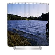 Killykeen Forest Park, Co Cavan Shower Curtain