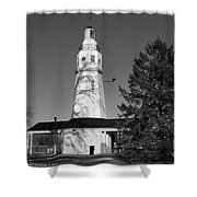 Kimberly Point Lighthouse Shower Curtain