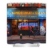 Kims Shower Curtain by Skip Hunt