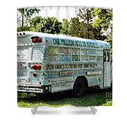 Kindness Bus 2 Shower Curtain