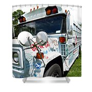 Kindness Bus 4 Shower Curtain