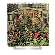 King And Bay Streets Shower Curtain