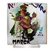 King Carnaval March - Mardi Gras Shower Curtain