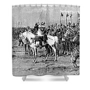 King Gustavus II Of Sweden Shower Curtain