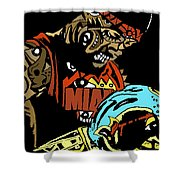 King James Shower Curtain
