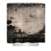 King Of The Pier Shower Curtain