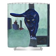 King Of The Urban Jungle Shower Curtain