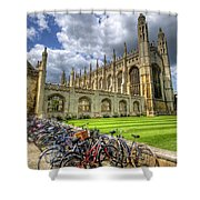 Kings College Cambridge Shower Curtain