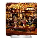Kings Head Pub Kettlewell Shower Curtain