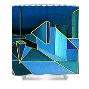 King's Highway 8 Shower Curtain