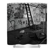 Kings Ladder Shower Curtain
