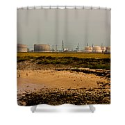 Kingsnorth Power Station Shower Curtain