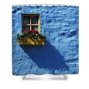 Kinsale, Co Cork, Ireland Cottage Window Shower Curtain