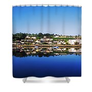 Kinsale, Co Cork, Ireland Shower Curtain