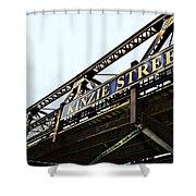 Kinzie Street Stop - Chicago Shower Curtain