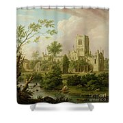 Kirkstall Abbey - Yorkshire Shower Curtain