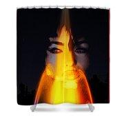 Kiss A Rainbow Shower Curtain