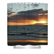 Kiss Of Light Shower Curtain