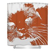 Kit Kat Shower Curtain